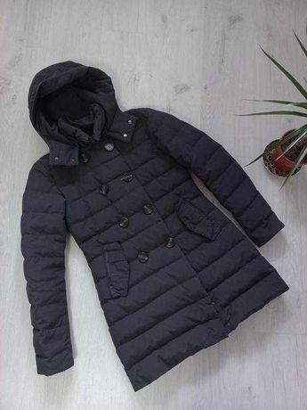 Куртка удлинённая zero серого цвета