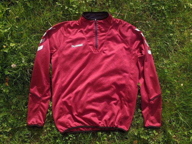 Чоловічий світшот, полуверт, кофта Hummel Sweatshirt Reflector 1/4 Zip