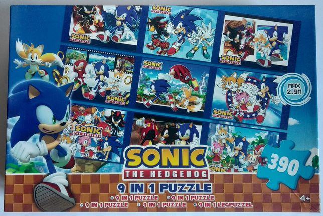 Детский пазл Соник Sonic