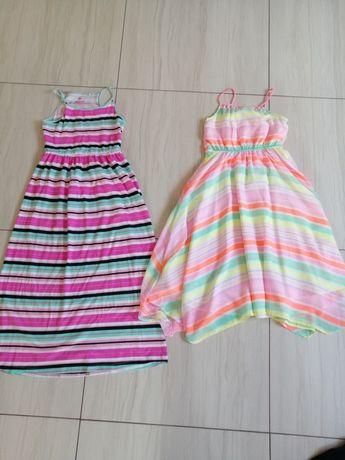 Długie sukienki dla dziewczynki