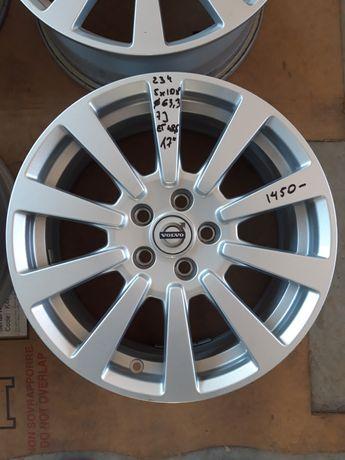 234 Felgi Aluminiowe Alusy VOLVO R17 5x108 otwór 63.3 BARDZO ŁADNE