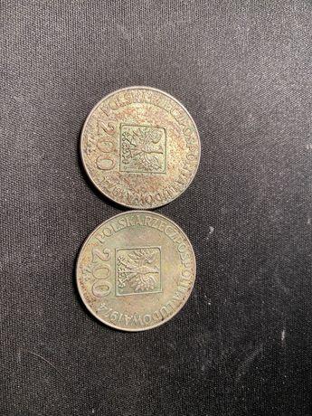 2x 200 ZŁ Moneta PRL kolekcjonerksa unikat