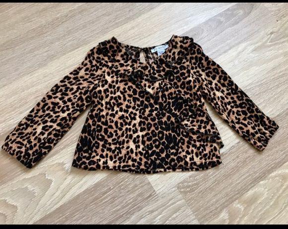 Кофточка-блуза модный принт