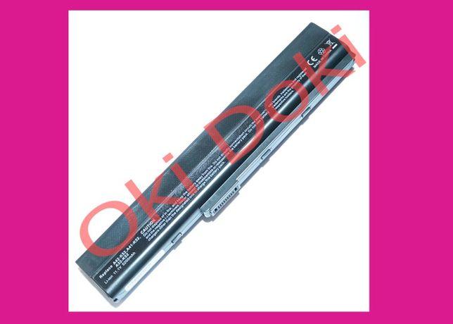 Батарея Asus K52 K42 K52JR D A J F X 4 1 3 A32-K52 A42-K52 аккумулятор