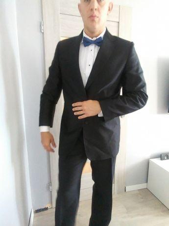 Czarny garnitur 180