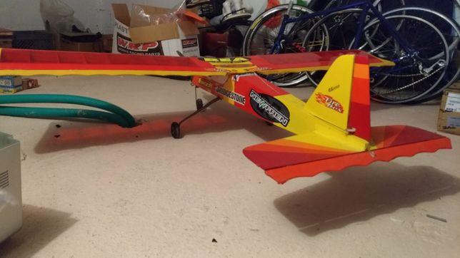 Aeromodelismo iniciação motor OS46 troca Drone c/camera