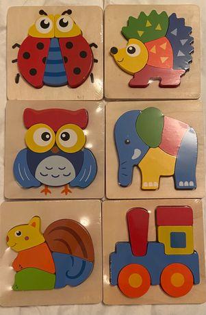 Puzzles de madeira