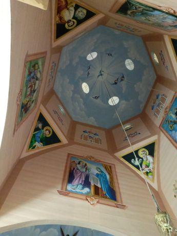 Роспис та реставрація церков,та всі види художніх робіт,та скульптури