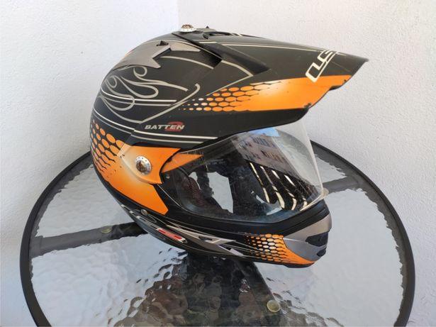 Kask motocyklowy LS2 - cross, quad, atv -