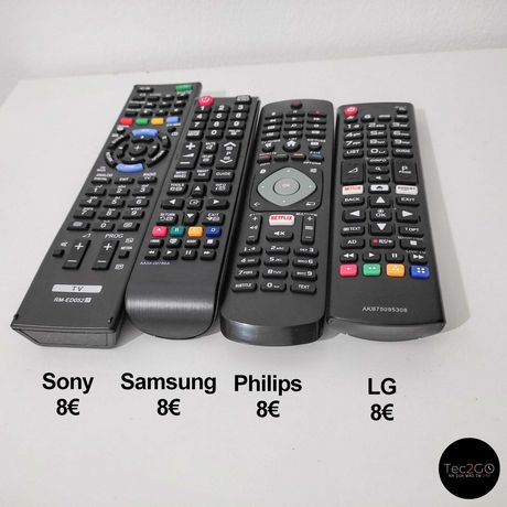 Comando *NOVO* para Samsung | LG | Philips | Sony