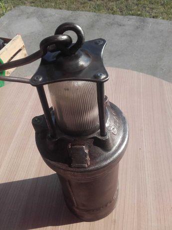 Stara lampa górnicza FLG