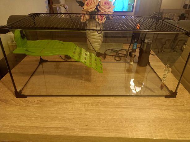 Terrarium dla żółwia akwarium rybki gryzonie