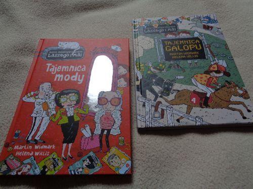 Tośka Marzec -2 książki +Tajemnica galopu+Tajemnica mody +GRATIS!!
