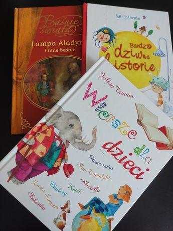 Książki dla dzieci, gazetki, płyty edukacyjne