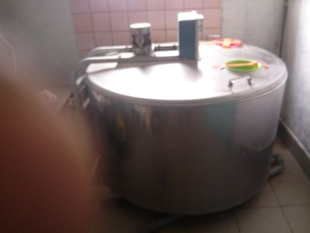 Schładzalnik na mleko baniak 550 l
