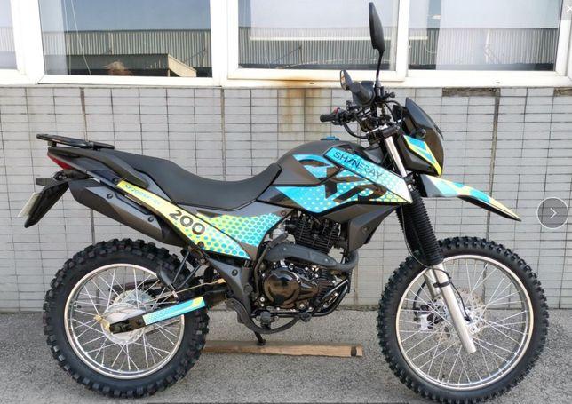 АКЦІЯ Розпродаж!!Мотоцикл, Shineray 6c 200, 250 cross, enduro