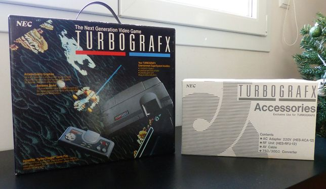 "Consola NEC Turbografx 16 (PAL) ""New Old Stock"""