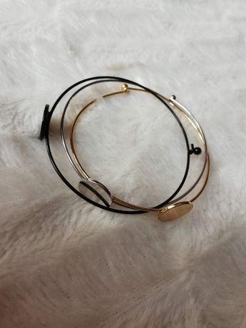 Zestaw bransoletek biżuteria sztuczna