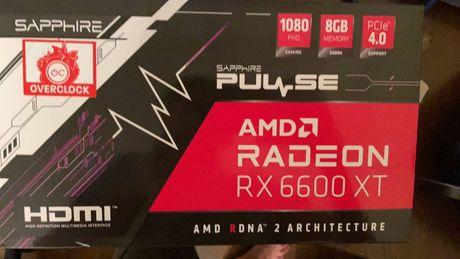 В наявності 1шт нові Sapphire Pulse Radeon RX 6600 XT