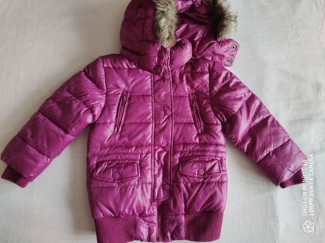 куртка демисезонная на девочку 4 года (104 см) фирмы Melbi i Coccoli