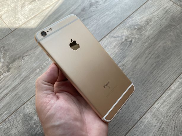 iPhone 6s Plus 128gb Gold полный комплект