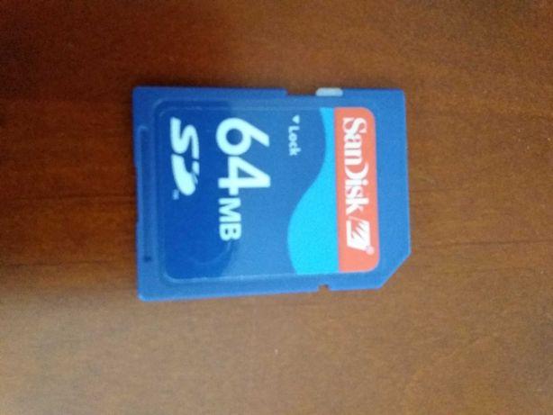 Cartão SD 64mb