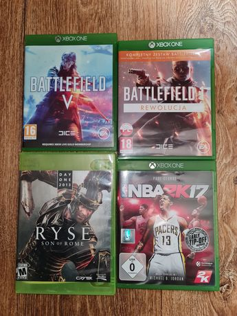 Игры XBOX One [Battlefield I, V, Ryse, NBA2K17]