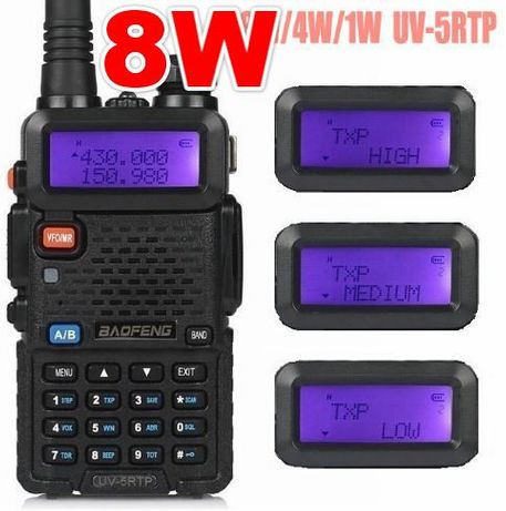 Baofeng 8W UV-5R Tri-Power