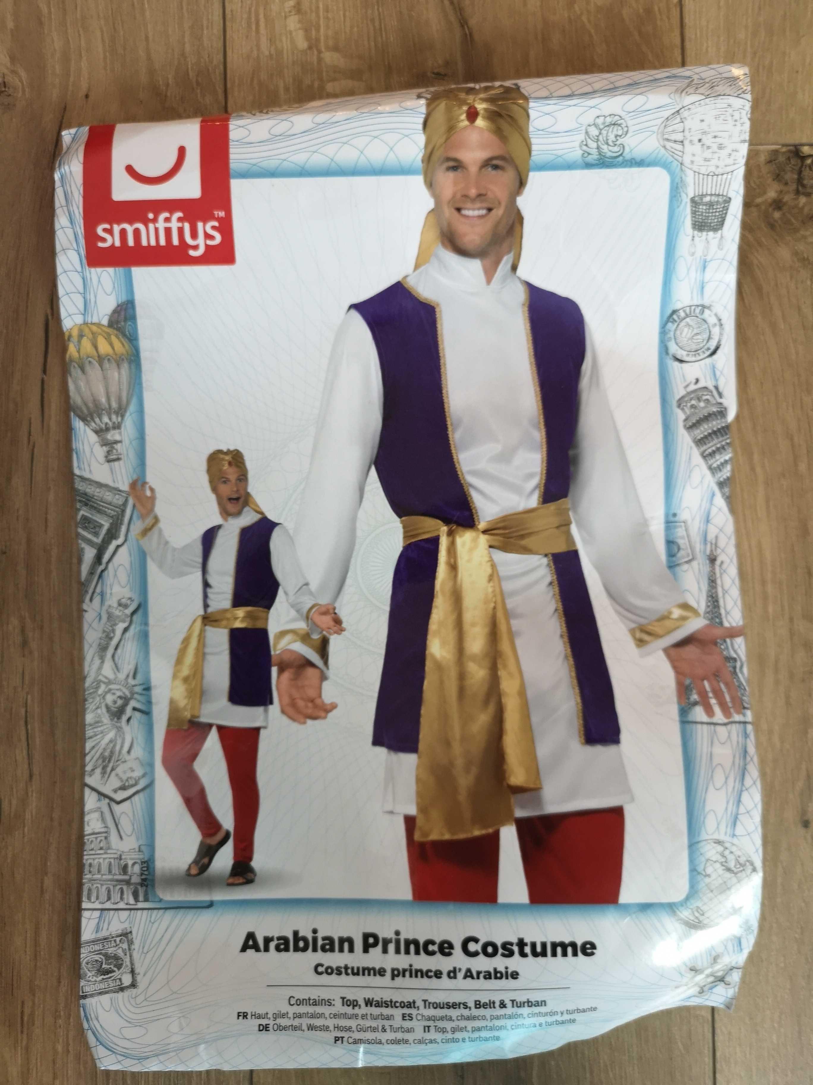 Męski kostium księcia arabskiego