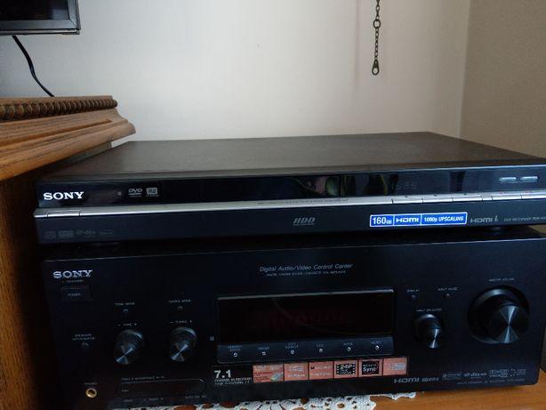 Zestaw SONY amplituner STR-DG820 i nagrywarka DVD/HDD RDR-HX780