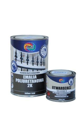 Lakier, Farba Poliuretanowa przemysłowa, Nawierzchniowa. ZESTAW 1,2L