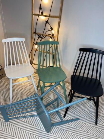 Krzesło Drewniane Patyczak Klasyk Fameg - Mix Kolorów