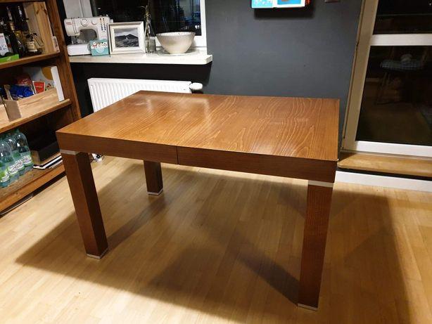 Stół drewniany 80x125 /205cm rozsuwany