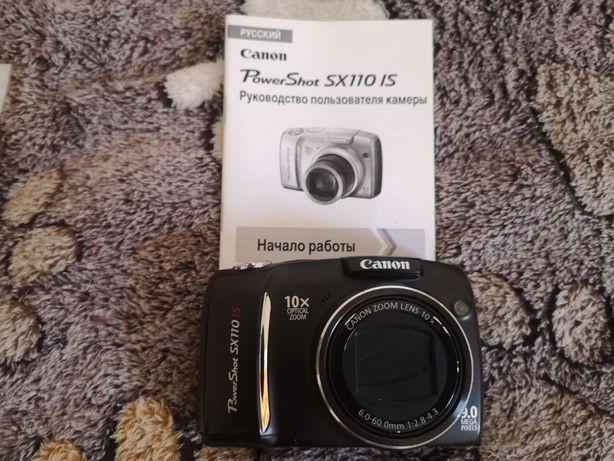 Фотоаппарат Canon PowerShot SX110 IS Black