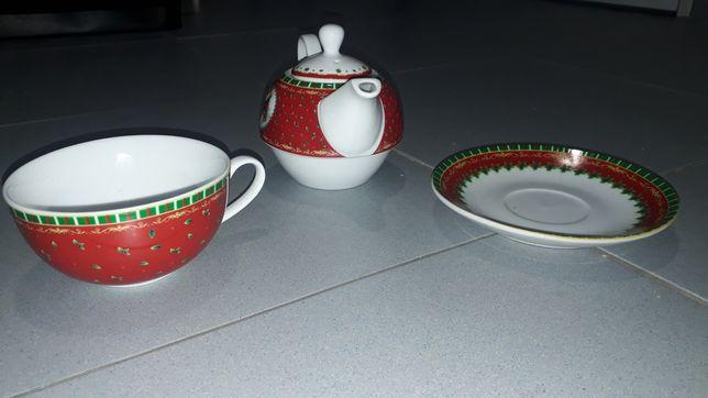 Conjunto chá de porcelana