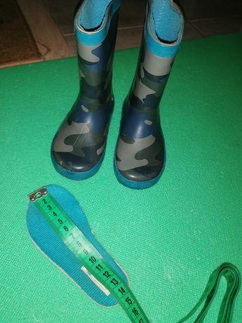 Резиновые сапоги 21 размер 14 см стелька