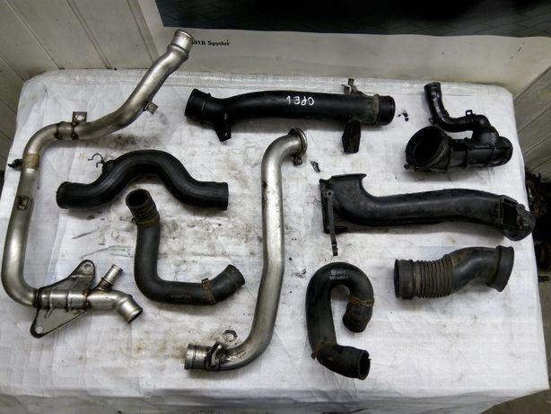 Патрубок шланг трубка Opel Zafira 2000 2.0tdi запчасти опель зафира