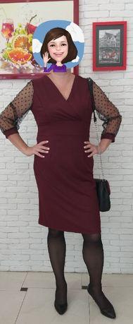 Праздничное платье для новогодних праздников. Сукня великого розміру