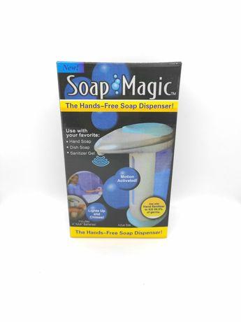 Сенсорный дозатор для жидкого мыла. Soap Magic.