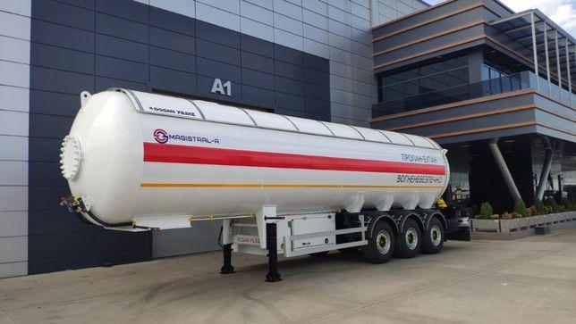 Полуприцеп газовоз Dogan Yildiz LPG 45 напівпричіп