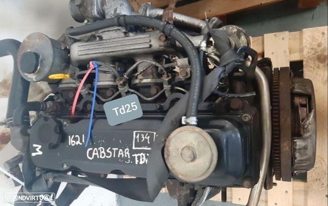 Motor Nissan Cabstar Pick-up F23 2.5D 80Cv + CAIXA VELOCIDADES 1998