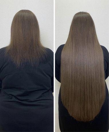 Наращивание волосс Киев,коррекция ,снятие