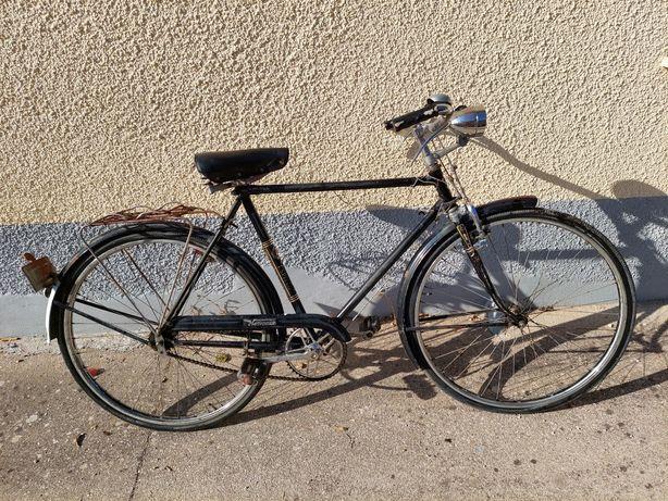 Bicicleta antiga pasteleira - marca bicicletas agueda