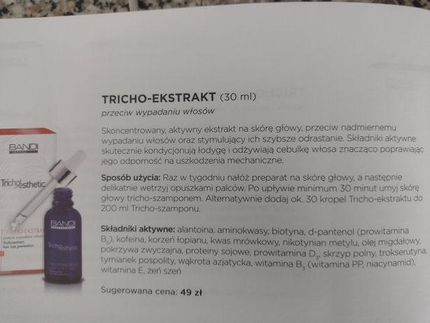 Bandi tricho-ekstrakt przeciw wypadaniu włosów 30 ml
