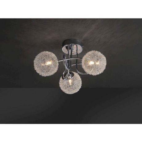 Nowoczesna sufitowa LED lampa BUBBLZ Leuchten Direkt żarówka G9
