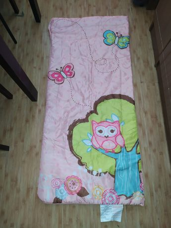 Спальник-одеяло детский 147,спальный мешок подростковый 147, спальник
