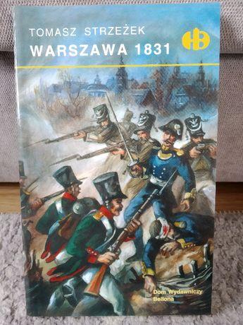 Nowa książka Warszawa 1831 - Tomasz Strzeżek