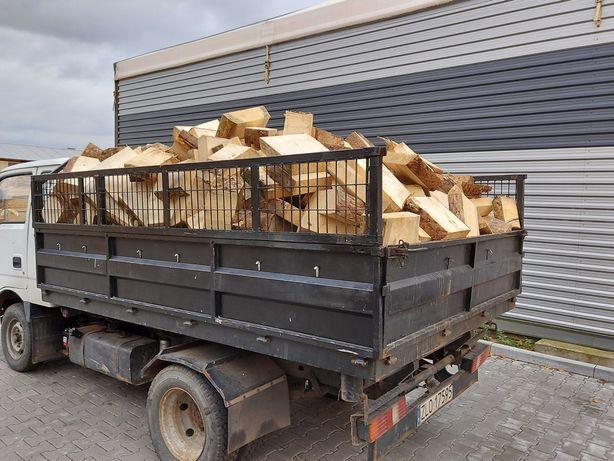 Drewno opałowe sosna-świerk 500zł - 5 mp