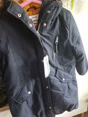 Kurtka płaszczyk Zara 128 nowa