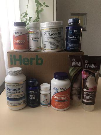 Вітамін Ц,цинк,омега,колаген. Вітаміни для імунітету